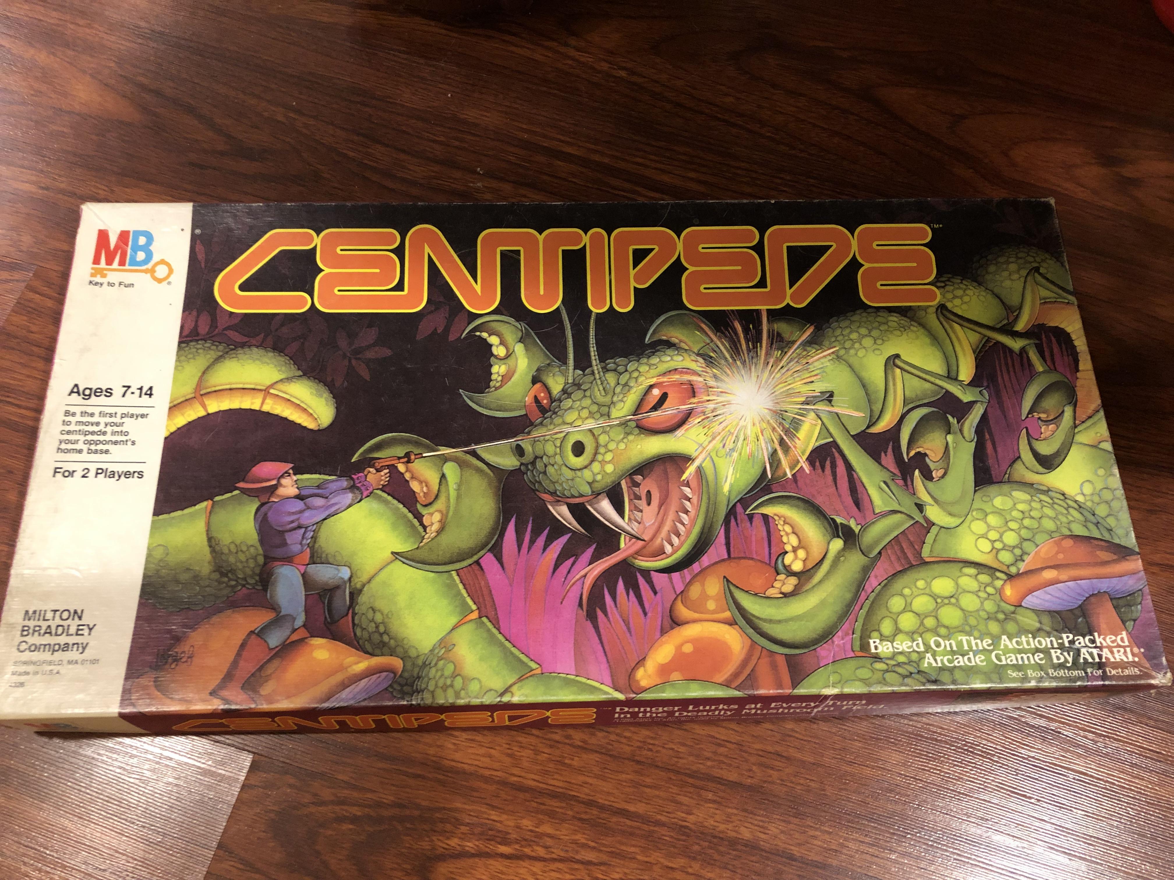 Feeling Board The Centipede Board Game Stone Age Gamer